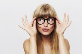 afzakkende bril