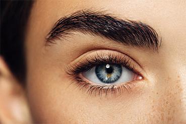 close-up oog